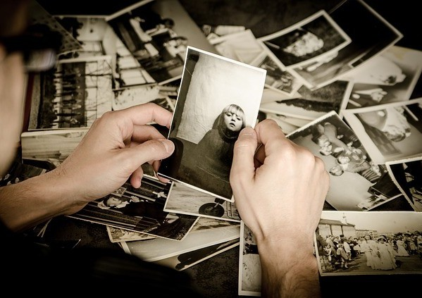 memories in photographs