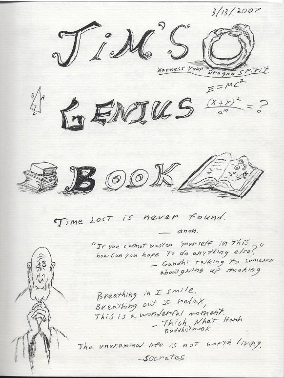 Jims Genius Book ESL Book Idea