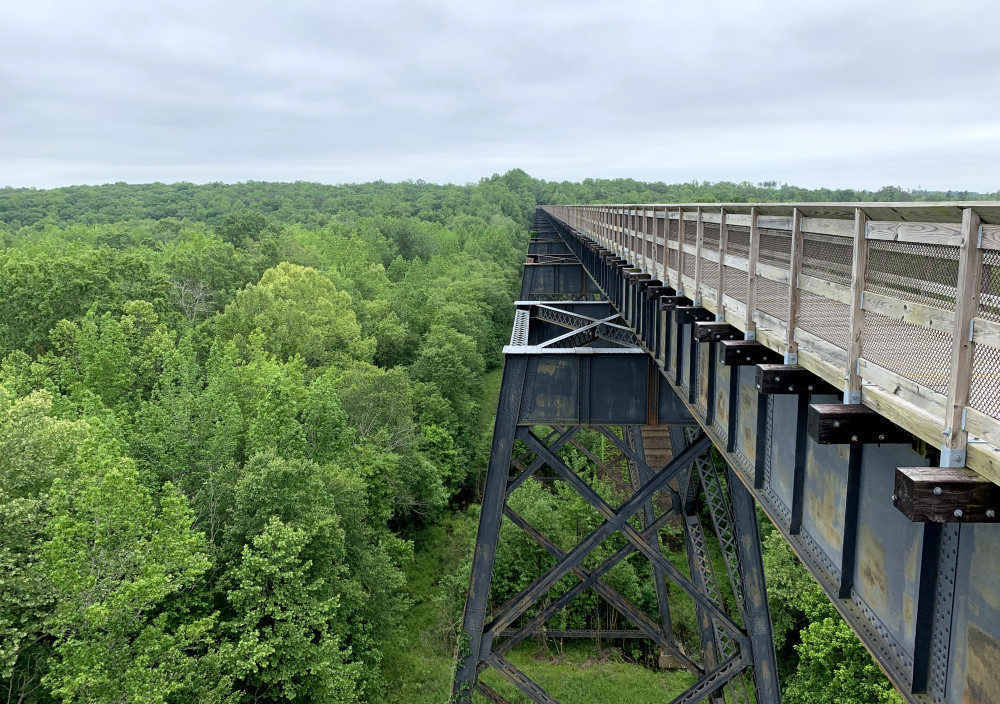 High Bridge Trail biking for Kids
