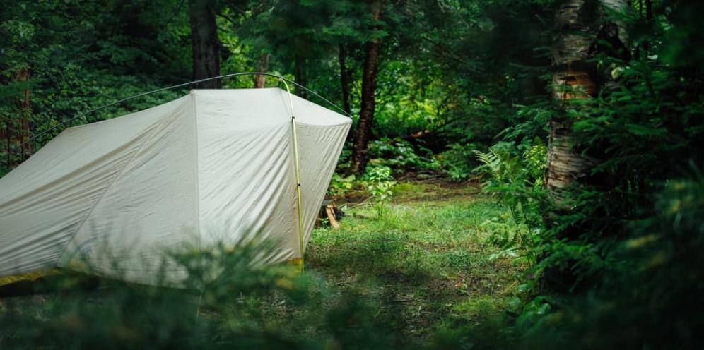 Tiny tent big family