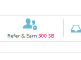 Refer & Earn Swagbucks Button