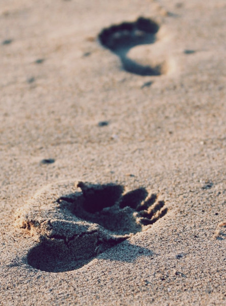 Follow Footprints Of Inspiration
