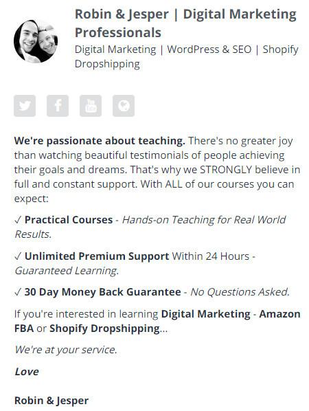 Robin & Jespers - Digital Marketing Professionals