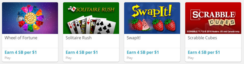 Play Games To Earn Points At Swagbucks