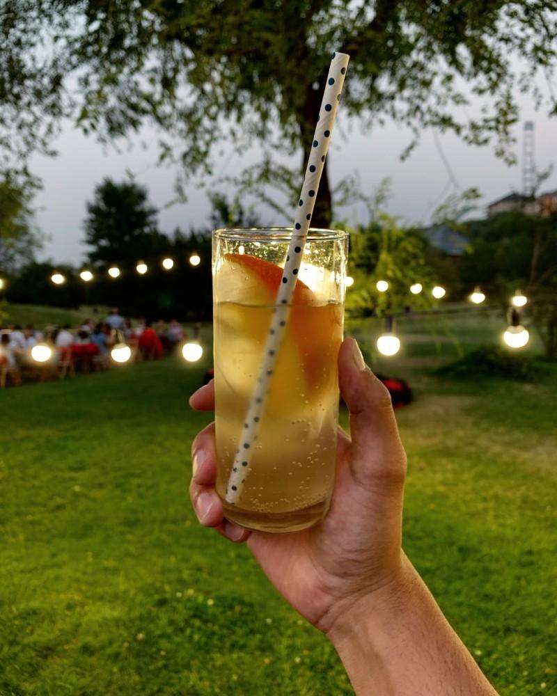 summer evening lemonade