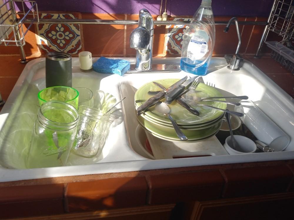My sink is not shining