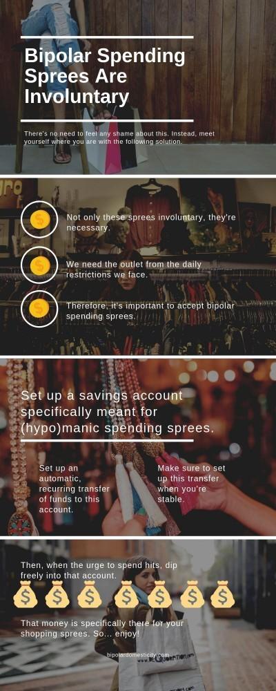 bipolar spending sprees