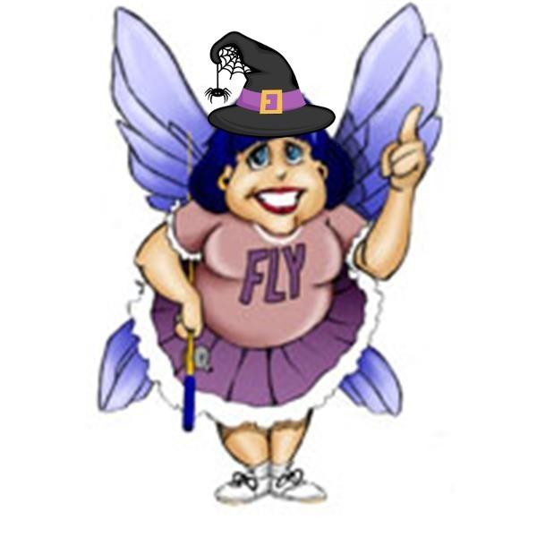 Flylady dressed up for Halloween