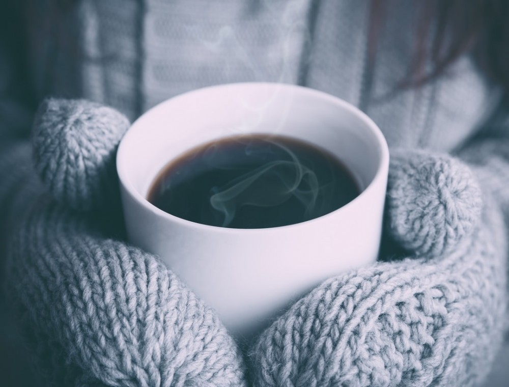 coffee on a winter's morning