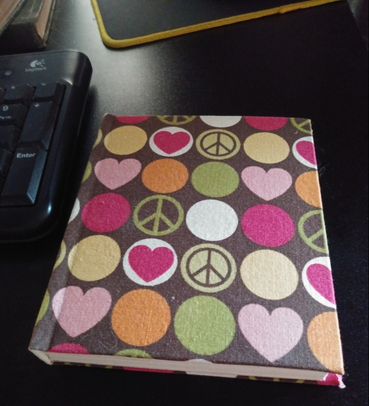 Heather's beautiful handmade journal