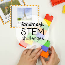 virtual trip to europe for homeschoolers - Lego Duplo Eiffel Tower