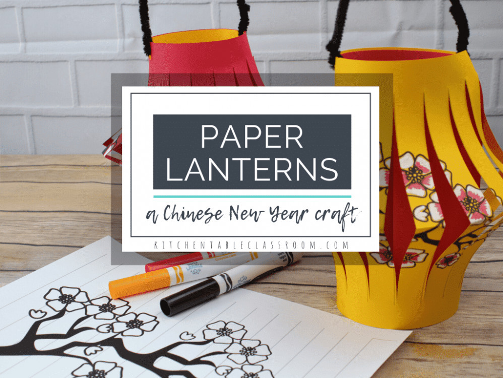 virtual trip to asia for homeschoolers - Chinese lanterns