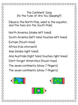 virtual trip to africa for homeschoolers - the continent song lyrics