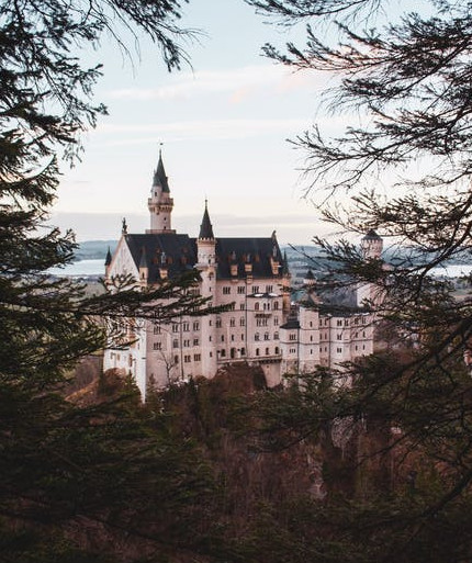 virtual tour to europe for homeschoolers - neauschwanstein castle photo