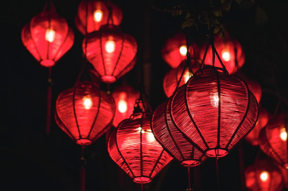 virtual trip to asia for homeschoolers - Chinese lantern photo