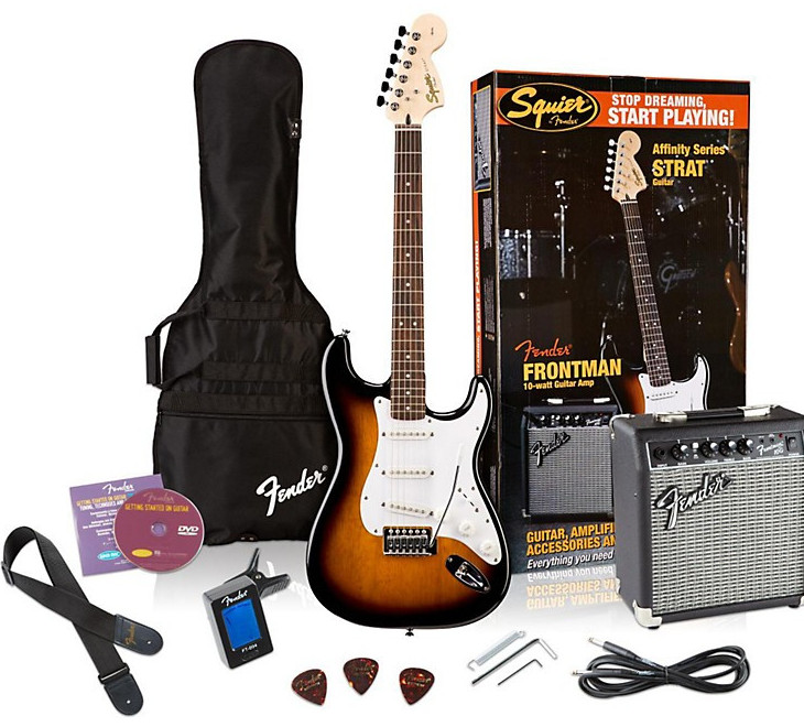 Squier Guitar Pack