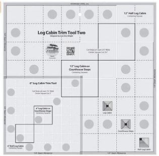 Creative Grids Log Cabin Trim Tool Two