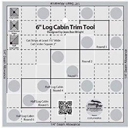 Creative Grids 6' Log Cabin Trim Tool