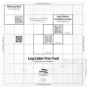 Creative Grids 8' Log Cabin Trim Tool