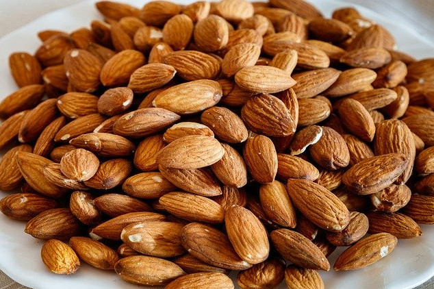 almonds are very healthy