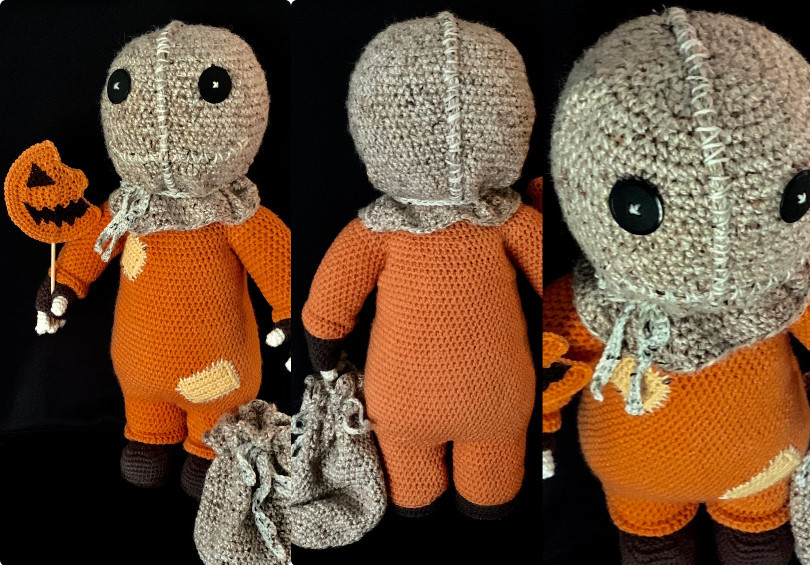 Trick'r Treat Halloween Crochet Pattern