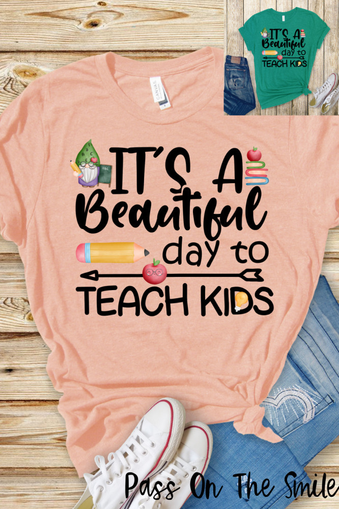 Teacher Shirt, Gnome Shirt, Back To School Clothes with Positive Quote