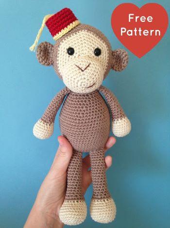 Cheeky little monkey from Julie Erskine