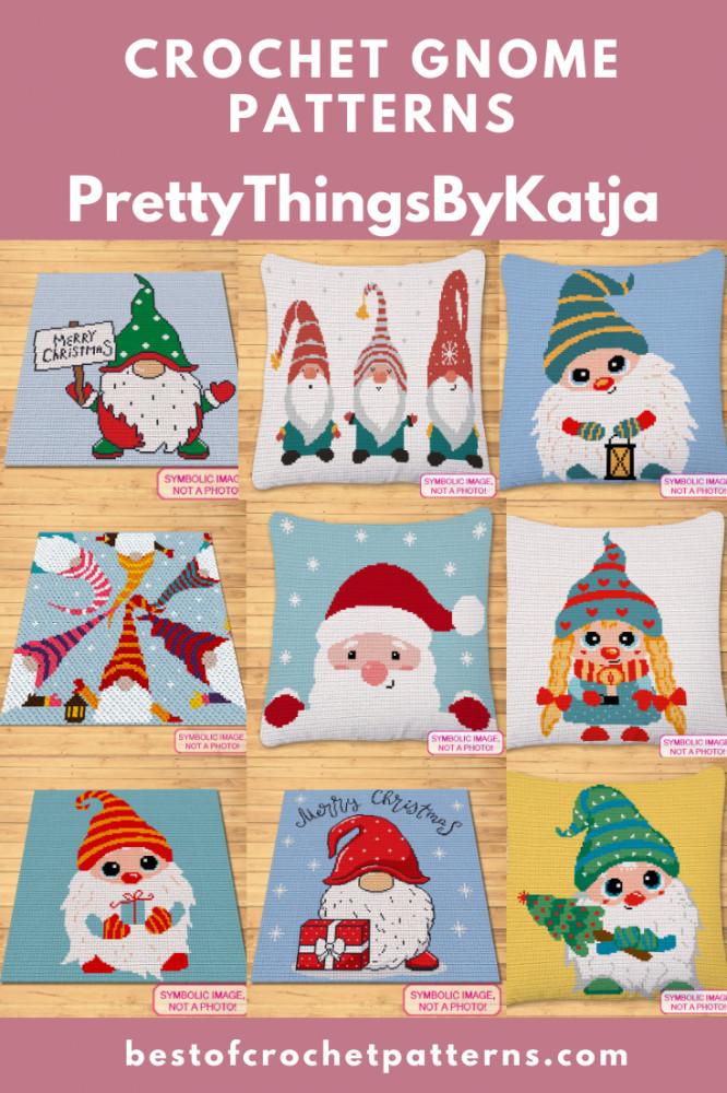 Christmas Crochet Patterns - Crochet Gnome Pattern