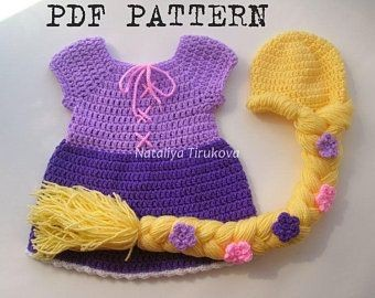 Princess Repunzel Crochet Pattern