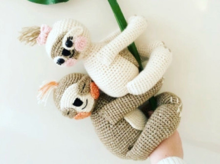 Essiebirdies - Free PDF download crochet sloth pattern