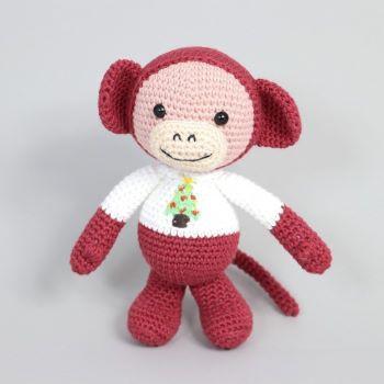 Ruby the Christmas monkey