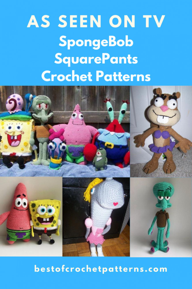 As seen on TV - SpongeBob SquarePants Crochet Patterns