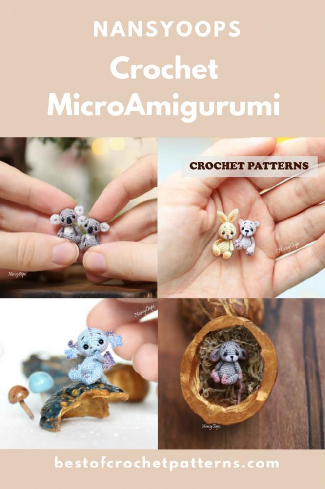 Micro Amigurumi Pattern - NansyOops