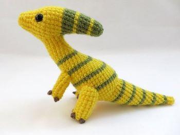 MevvSan Dinosaur Crochet Pattern