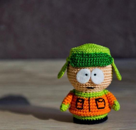 Kyle Broflovski Crochet Pattern
