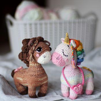 Horse an Unicorn Crochet Pattern - Loopy Pattern