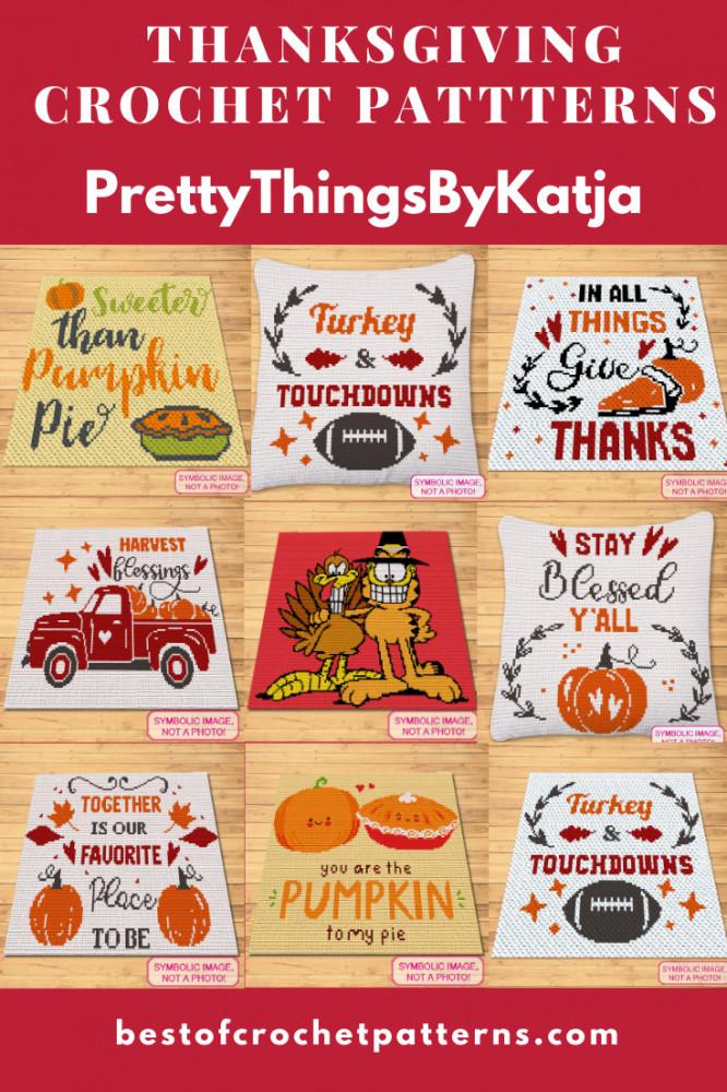 Thanksgiving Crochet Patterns - Free Garfield Crochet Pattern