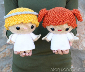Story Land Amis - Angels crochet pattern