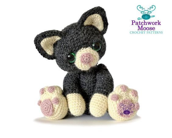 Crochet Cat Pattern by PatchworkMoose