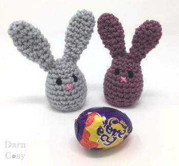 Bunny egg cozy by Darn cozy