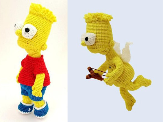 Bart Simpsons Crochet Pattern