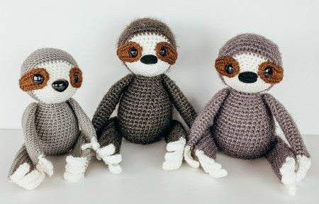 The friendly red fox - Amigurumi sloth free pattern