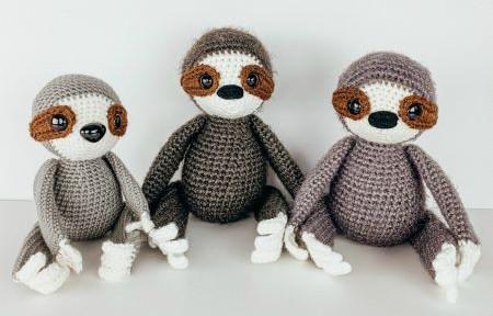 The friendly red fox - Amigurumi sloth free pattern