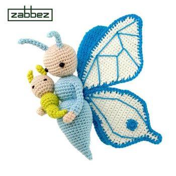 Crochet pattern amigurumi doll 'Butterfly Bree'