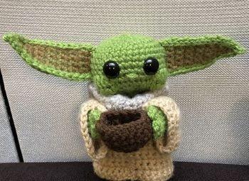 Baby Yoda Free Pattern