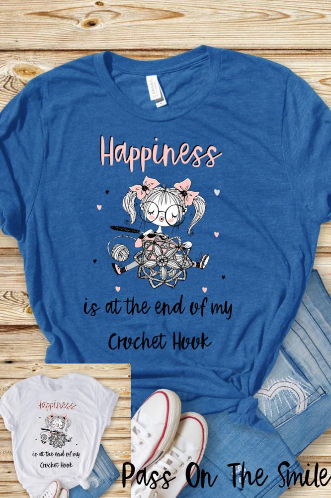 Yarn Lover Gift, Crochet Shirt - Positive Quote Shirt