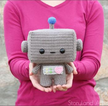 Story Land Amis - Robot crochet pattern