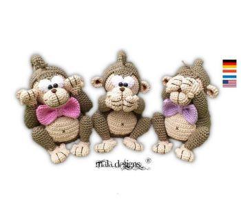 Three monkeys from malaDesign