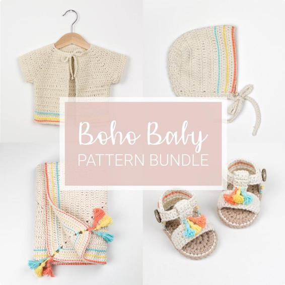 Crochet Boho Baby Crochet Patterns - Croby Patterns