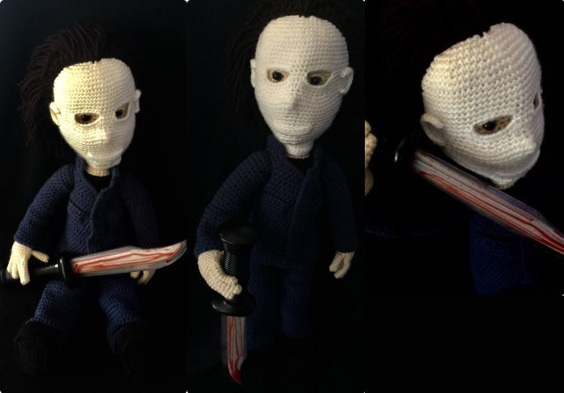 Michael Myers Crochet Amigurumi Pattern